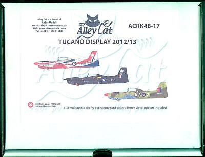 1/48 Alley Cat Models SHORTS TUCANO T.1 Trainer 2012-2013 Display Schemes *MINT*