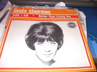 Linda Thorson Rare Uk Picture Sleeve Demo