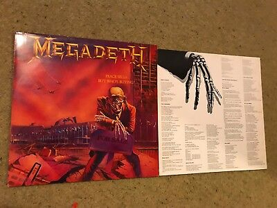 Megadeth Peace Sells.....LP 1986 Capitol Records Thrash Metal