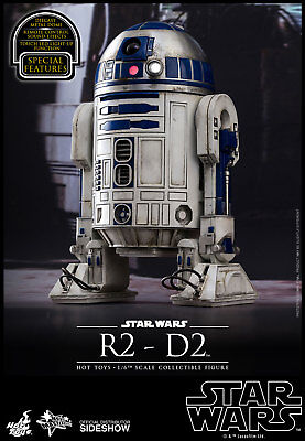 "Star Wars EP 7 The Force Awakens R2-D2 12"" 1/6 figure Hot Toys U.S. seller"