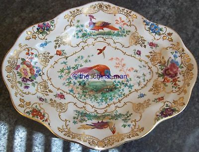 """BOOTHS CHELSEA BIRDS pattern 11.5"""" SERVING DISH"""