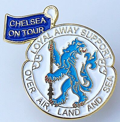 Chelsea 'loyal Away Support' Football Badge Free Post
