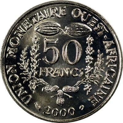 West African States - 50 Francs - 2000 - Fao Issue - Unc