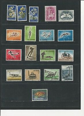 San Marino - Collection Of Used Stamps (1 Photos) - #san1