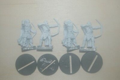 Warhammer ,lord Of The Rings , Dunlending Warriors With Bows