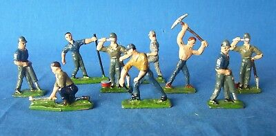Eire Lead O/s Figure - Rr Worker Lot
