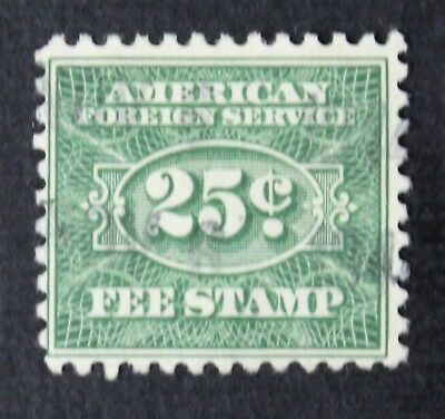 CKStamps: US Revenue Consular Service Fee Stamps Scott#RK32 Used CV$160