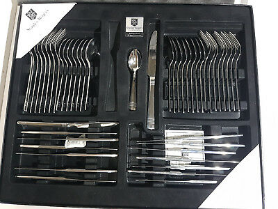 Stanley Rogers 56 Pce Setting For 8 - Brand New Cutlery Set 18/0 Stainless Steel