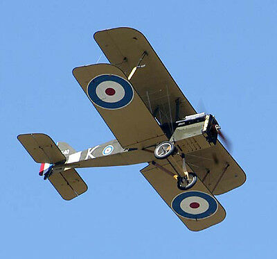 Giant 1/3 Scale British WW-I RAF SE-5A Biplane Plans,Templates,Instruction 106ws