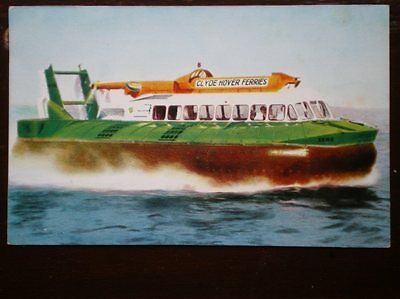 Postcard Clyde Hover Ferries - Hovercraft