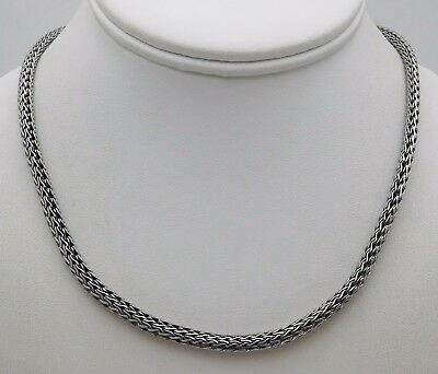 CNA Sterling Silver Cable Ladies Necklace