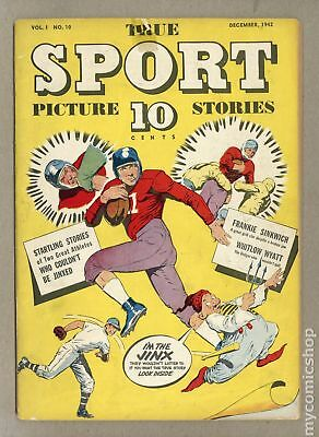 True Sport Picture Stories Vol. 1 (1942) #10 VG- 3.5