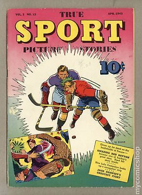 True Sport Picture Stories Vol. 1 (1942) #12 VG 4.0