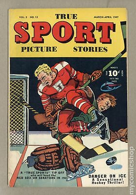 True Sport Picture Stories Vol. 3 (1945) #12 GD+ 2.5
