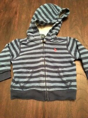 Gently used preowned Ralph Lauren Polo jacket hoodie 9 months