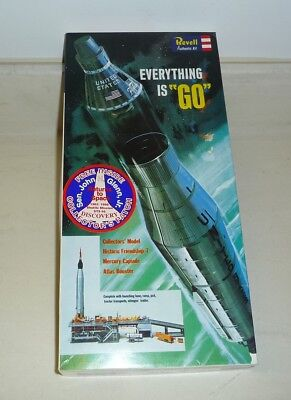 """Revell - Everything is """"Go""""  Mercury Capsule and Atlas Booster Space Rocket Ship"""