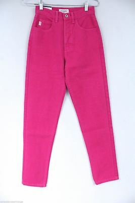 VTG Guess Jeans NWT Hot Pink Mom Jeans Skinny 1990s Sz 26 American Tradition