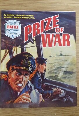 Battle Picture Library #413  1969  Prize of War