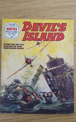 Battle Picture Library #417  1969  Devil's Island
