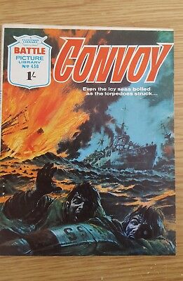 Battle Picture Library #438 1969  Convoy