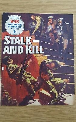 War Picture Library #533  1969  Stalk- And Kill