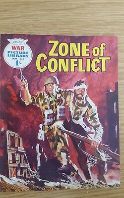 War Picture Library #535  1969  Zone of Conflict