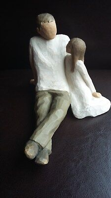 Willow Tree Figures - Father and Daughter