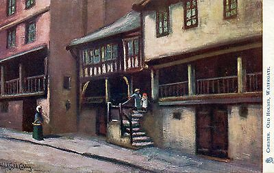 CHESTER - OLD HOUSES WATERGATE c1905 TUCKS POSTCARD