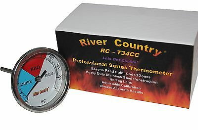 """3"""" Rct34 Bbq Charcoal Gas Electric Grill Smoker Pit Thermometer 4"""" Stem 50-550"""