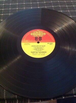 Sonny Boy Williamson Down And Out Blues Ex Mint