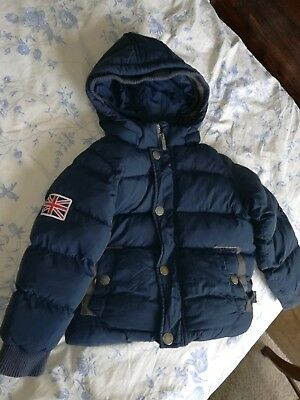 pepe jeans winter warm feather jacket toddler 24- 36 months, 2 year old