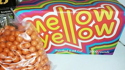 Mellow Yellow Paintballs Cal. 68 Paintball Paintball Woodland Magfed PaintNoMore