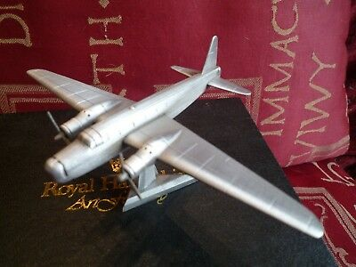 Boxed Vintage Royal Hampshire Art Foundry Wellington Aircraft Pewter Model