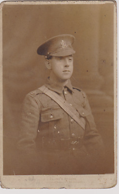 WW1 RPPC - 3 PCs of a Northern Cyclist Battalion (TF) Soldier. One from Grimsby
