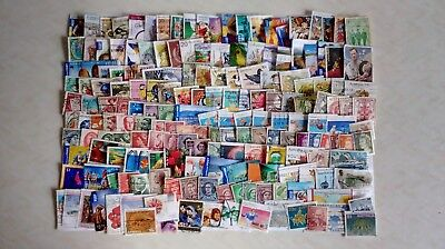 180 Australian Stamps, Used Off Paper