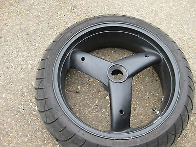 TRIUMPH SPRINT ST 955 955i 1999-2004 REAR BACK WHEEL AND TYRE TIRE