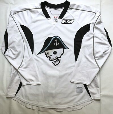 Pro Stock Milwaukee Admirals Reebok Edge 2.0 White Hockey Practice Jersey - 58+