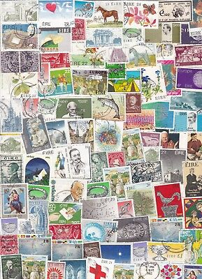 Ireland Used Collection/accumulation 500+ Stamps