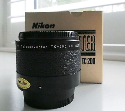 Nikon TC-200 AI Teleconverter - Mint boxed!