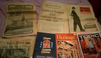 Leicester Local History Newspapers & Magazines 1953 -2012