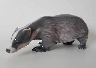 Royal Copenhagen Badger, Model 1209, Date 1898 - 1923