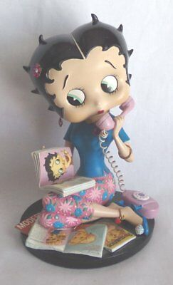 Betty Boop 'Talk of the Town' Danbury Mint Porcelain Figurine
