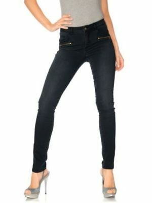 S7°6241 Tolle Jeans Von Bc Woman In Black Stone Gr. 38