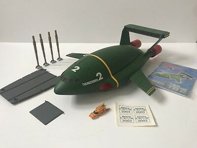 Thunderbirds 2 Gerry Anderson TB2 Aoshima 1/200 Scale Diecast Model