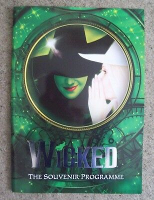 Wicked - Programme
