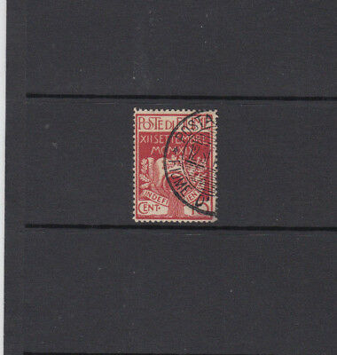 A very nice old Fiume High Cat Value 1920 10 Cents Red issue