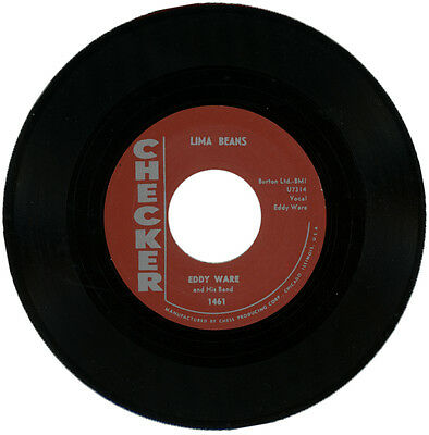 """EDDY WARE And is BAND  """"LIMA BEANS""""   CLASSIC R&B MOVER"""