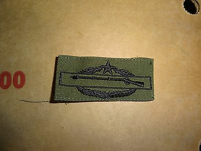Us Military Insignia  Patch Army Vietnam Era Combat Infantry Sew On 2Nd Award