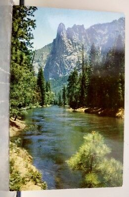 California CA Valley Sentinel Rock Postcard Old Vintage Card View Standard Post