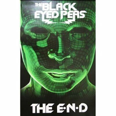 THE BLACK EYED PEAS The End 2009 DOUBLE SIDED POSTER